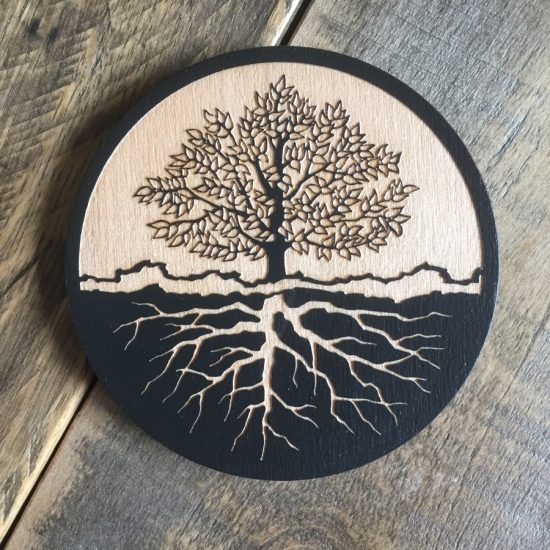 tree of life coaster - twisted spiral